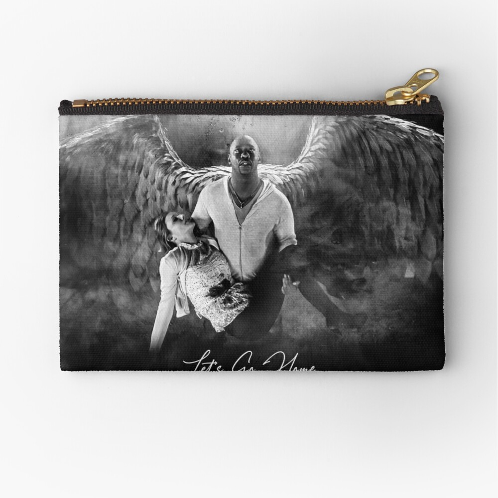 Amenadiel and Charlotte - Heaven Artwork Zipper Pouch