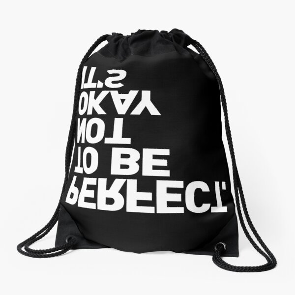 YES, IT IS Drawstring Bag