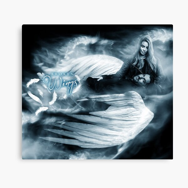 Lucifer and Chloe - Broken Wings Canvas Print