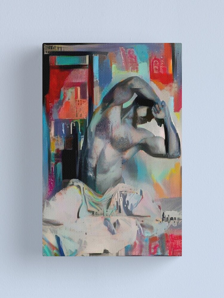 Alternate view of Lean Into It Canvas Print