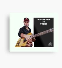 Tom Morello: The Nightwatchman Metal Print