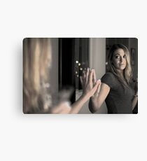 Mirror in a mirror Canvas Print