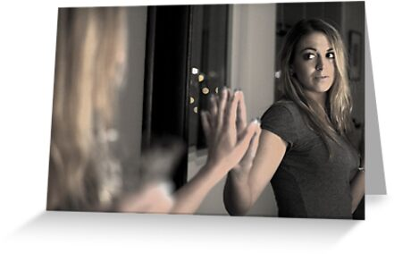 Mirror in a mirror by malek haneen