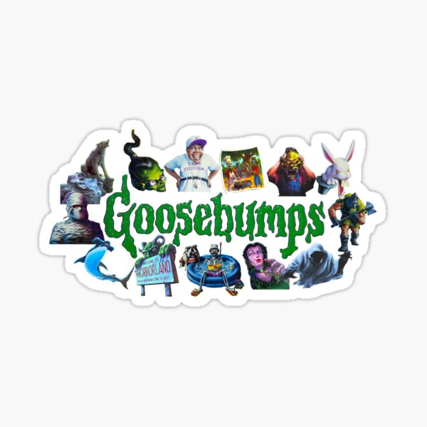Goosebumped Sticker