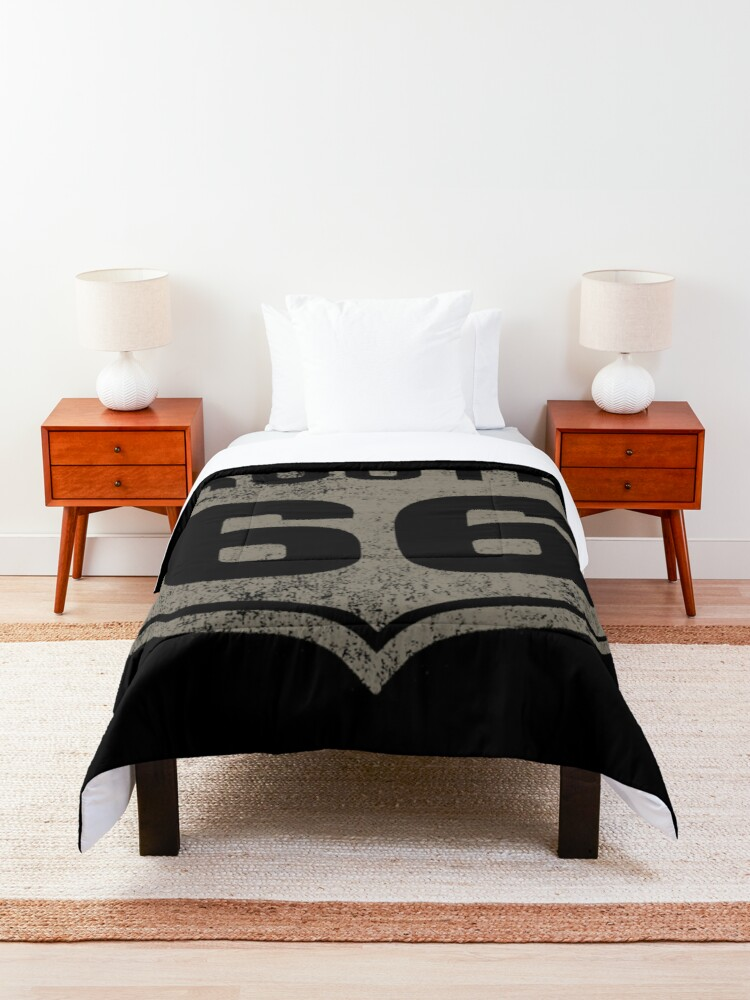 Alternate view of ROUTE 66 Comforter