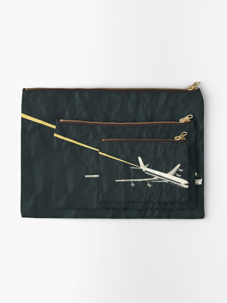 Alternate view of Lost in Space Zipper Pouch