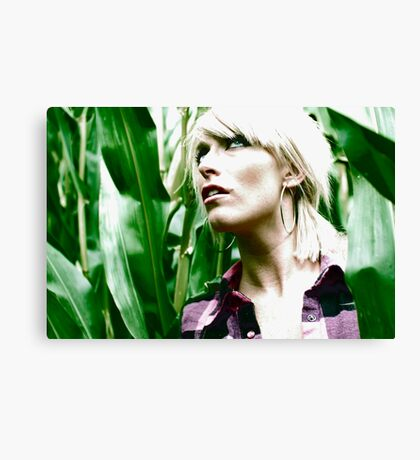 Fear of corn Canvas Print