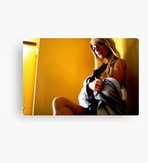 office seductress Canvas Print