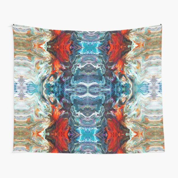 Fire And Water Tapestry