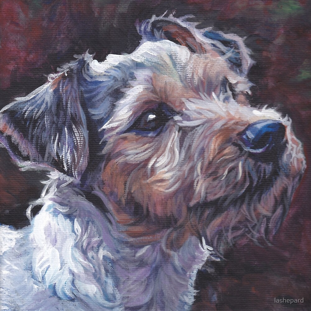 Parson Russell Terrier Fine Art Painting by lashepard