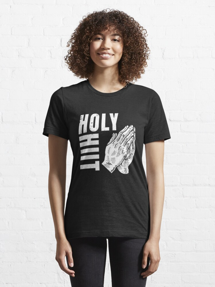 Alternate view of Cardio Workout - Holy Hiit Essential T-Shirt