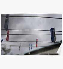 the suburban sky Poster