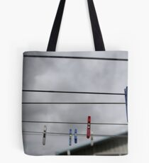 the suburban sky Tote Bag