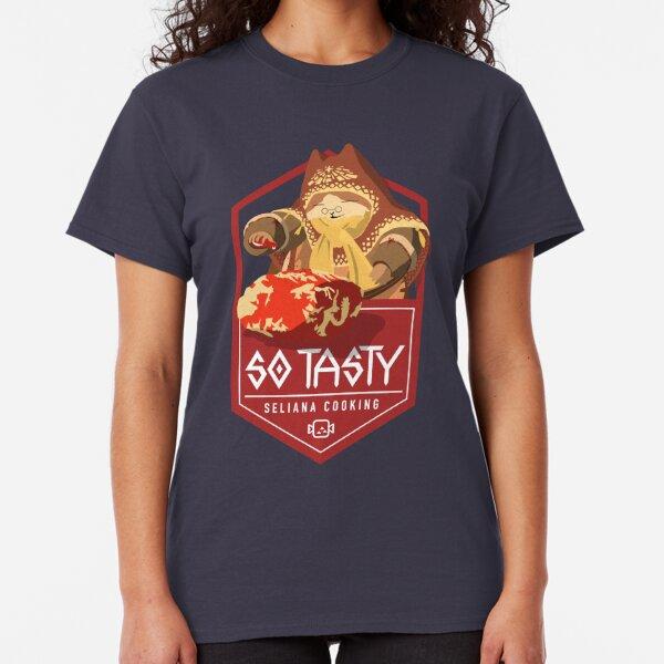 "Monster Hunter Iceborne - Seliana Cooking Chef ""So Tasty"" Classic T-Shirt"