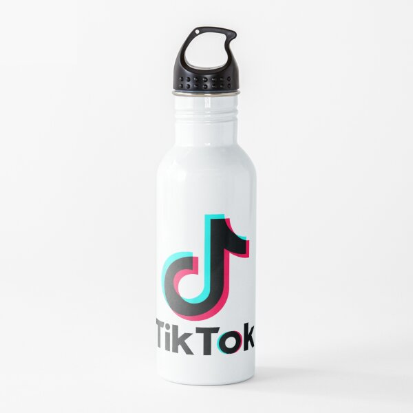Tok Tik Music Dance T Shirts Camisetas 555 Botella de agua