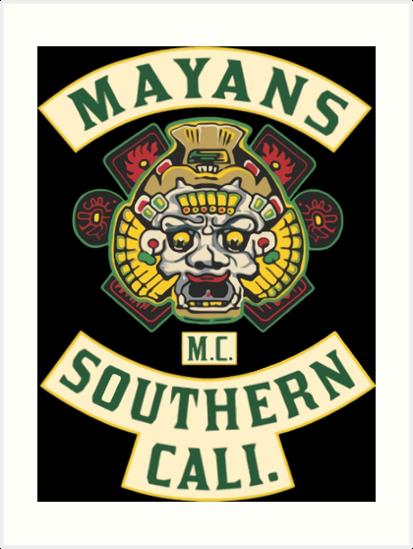 Mayans MC New Custom Poster Print Art Wall Decor