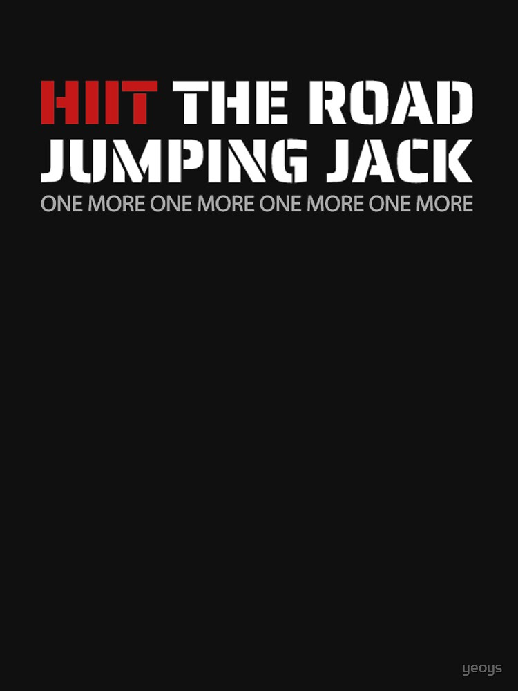 Hiit The Road Jumping Jack - Hiit Cardio by yeoys