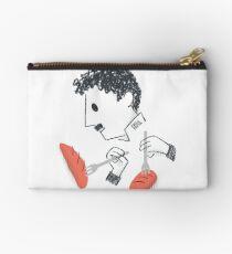 Baile de Chaplin con tenedores y pan Bolso de mano