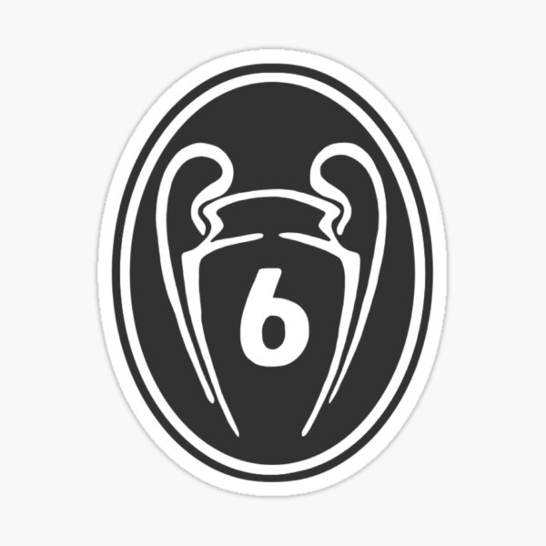 LFC 6 Times Winners Sticker