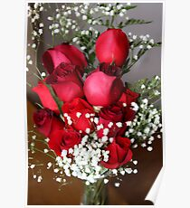 Romantic Roses Poster