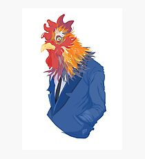 Corporate Cock Photographic Print