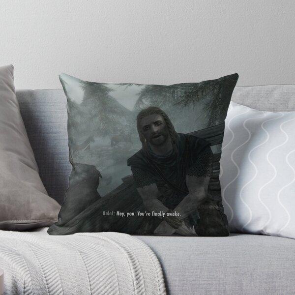 Hey, you. You're finally awake. Throw Pillow