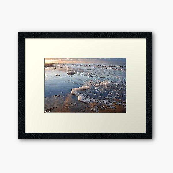 Along the coast line Framed Art Print