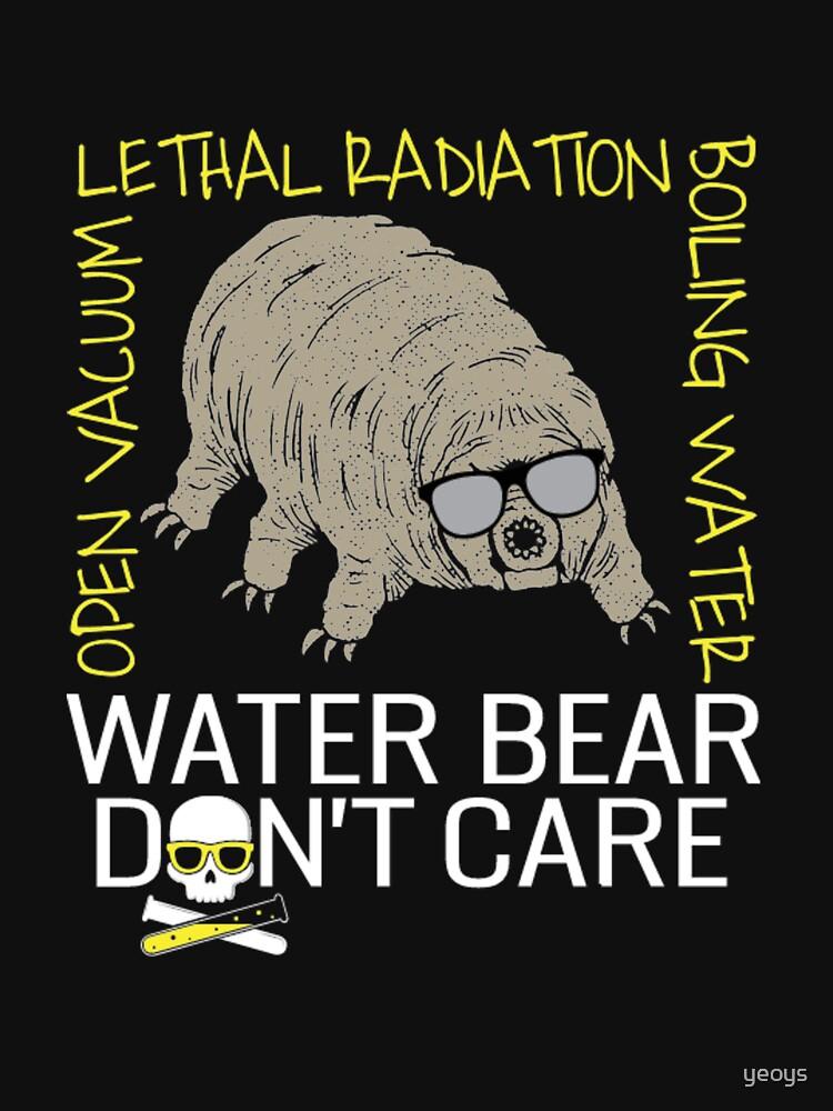 Water Bear Has No Fear - Micro-Animal Tardigrade by yeoys