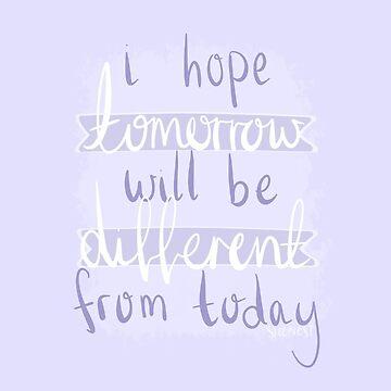 Espero que mañana sea diferente de hoy - BTS - Mañana de sleepiest