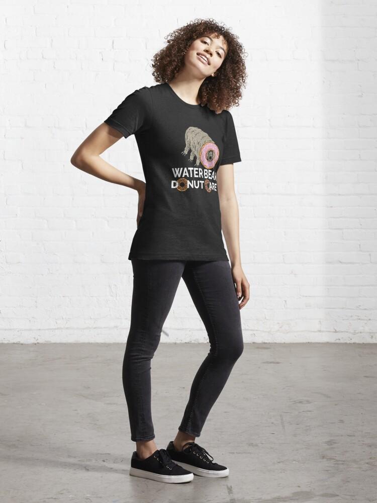 Alternate view of Water Bear Donut Care - Funny Micro-Animal Tardigrade Essential T-Shirt