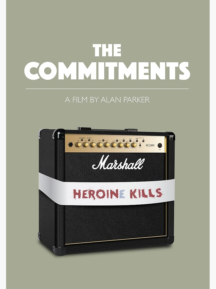 The Commitments - Alternative Movie Poster by MoviePosterBoy