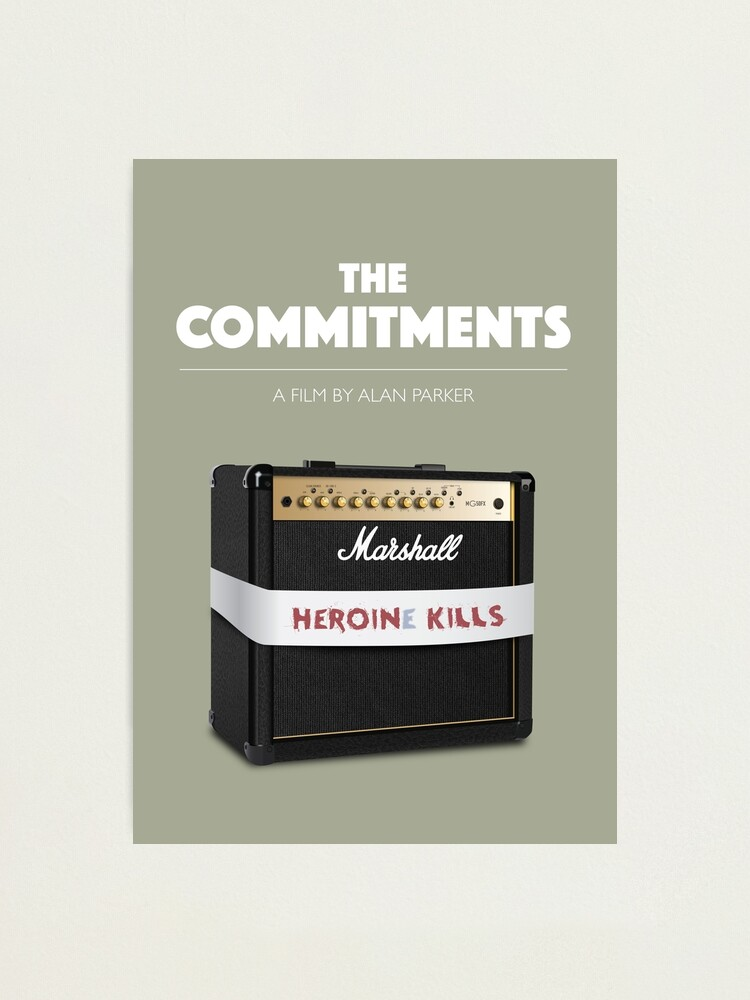 Alternate view of The Commitments - Alternative Movie Poster Photographic Print