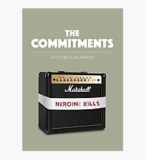 The Commitments - Alternative Movie Poster Photographic Print