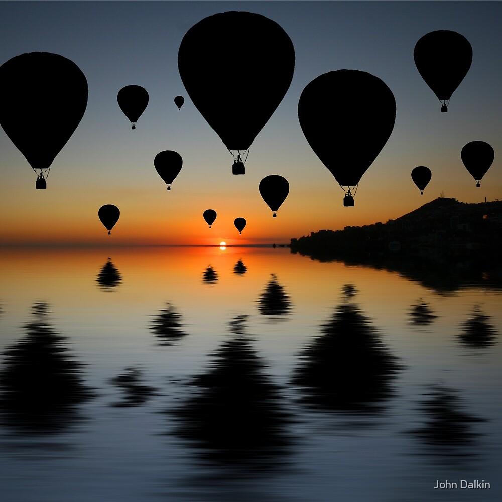 Sundowner Silhouette by John Dalkin