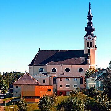 The village church of Reichenthal by patrickjobst