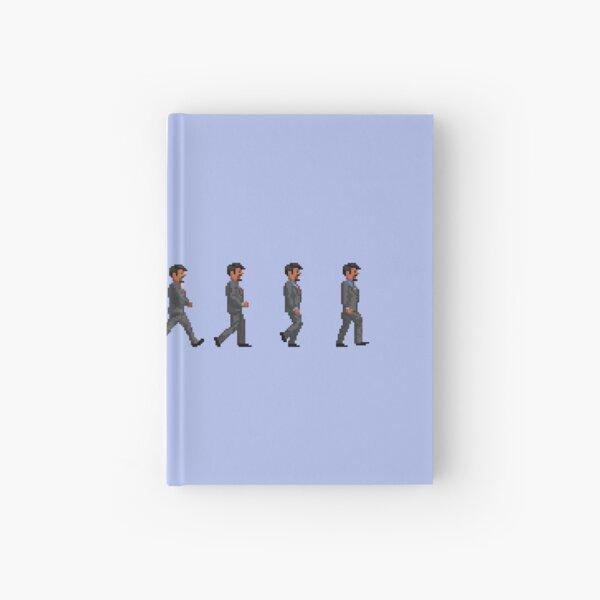 Retro 2D Pixel Art Walk Cycle: Marlowe Reed Hardcover Journal
