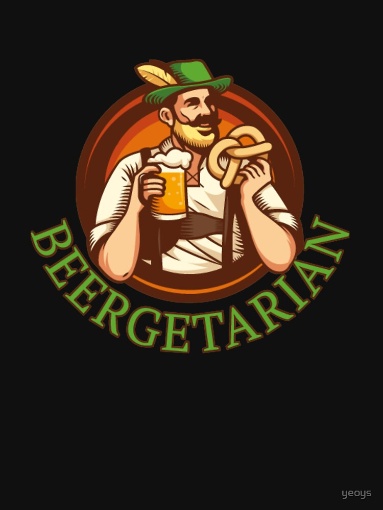 Funny Beer Pun - Beergetarian von yeoys