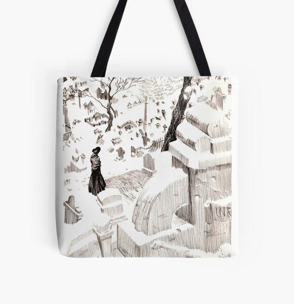 Cementerio All Over Print Tote Bag