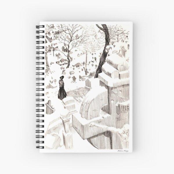 Cementerio Spiral Notebook
