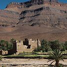 Kasbah, nr Ouarzazate by Christopher Cullen
