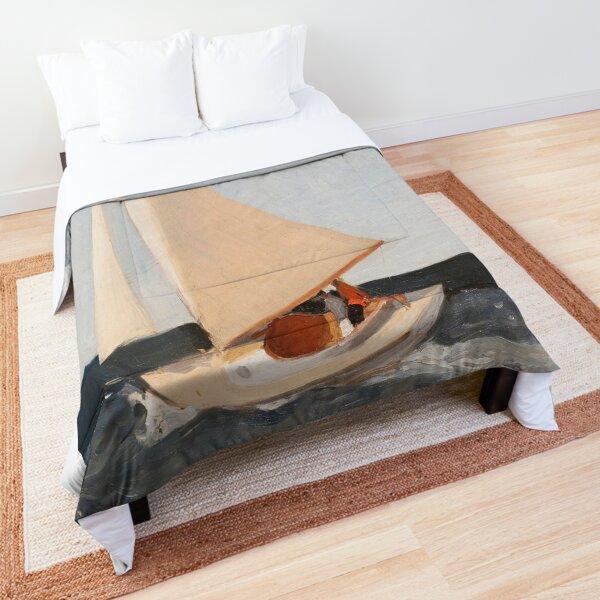 Sailing-Edward Hopper Comforter