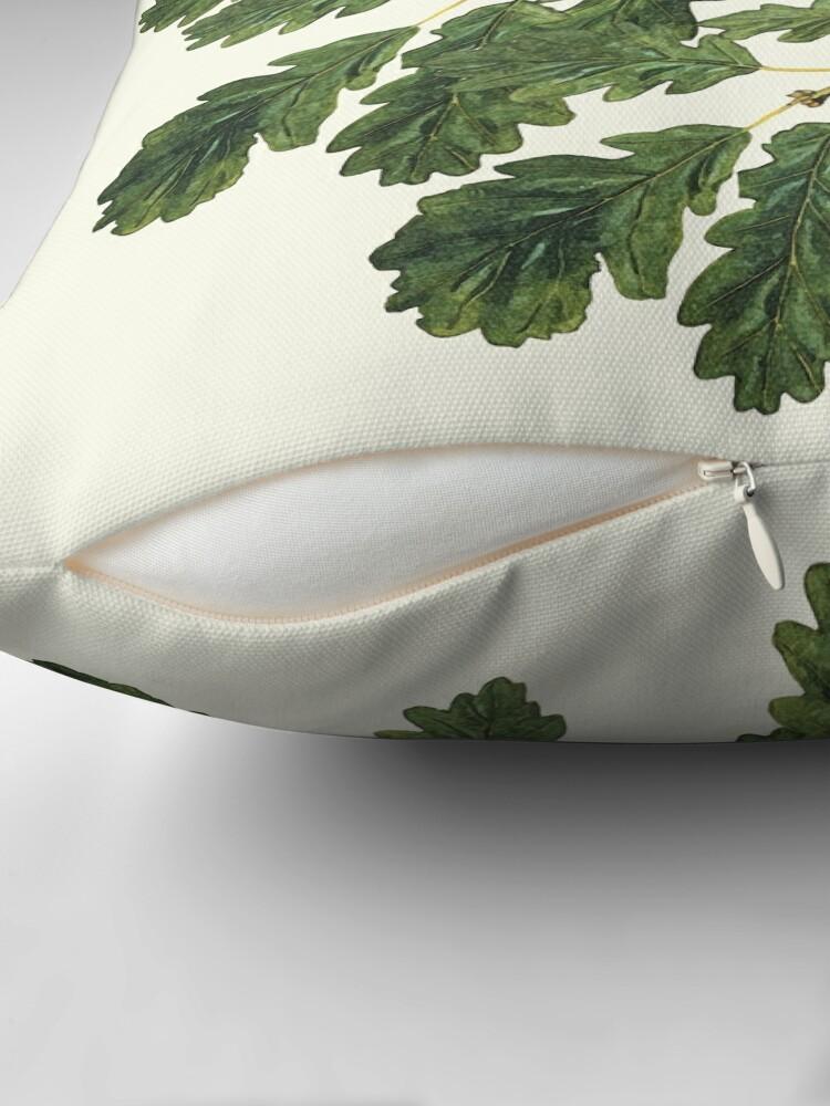 Alternate view of Oak leaf ensemble   Floor Pillow