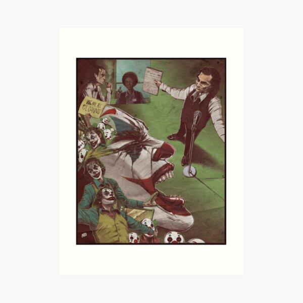 The House of Clowns Art Print
