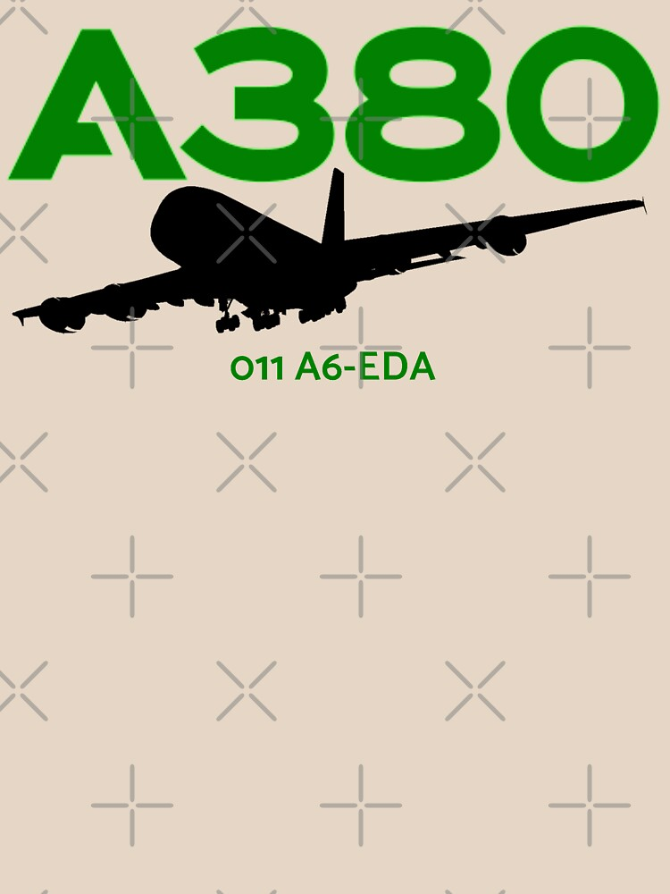 Airbus A380 011 A6-EDA (Black)  by AvGeekCentral