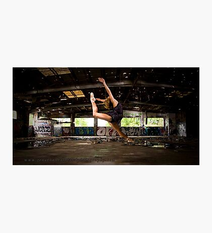Girl likes to Fly Photographic Print