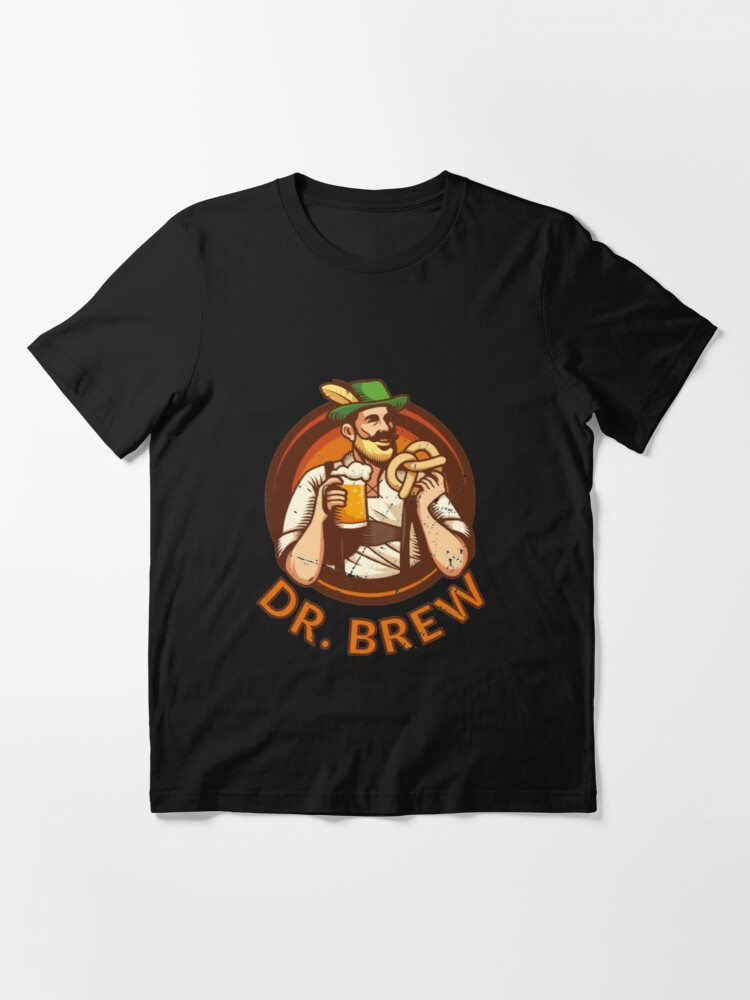 Alternate view of Doctor Brew - Craft Beer Essential T-Shirt