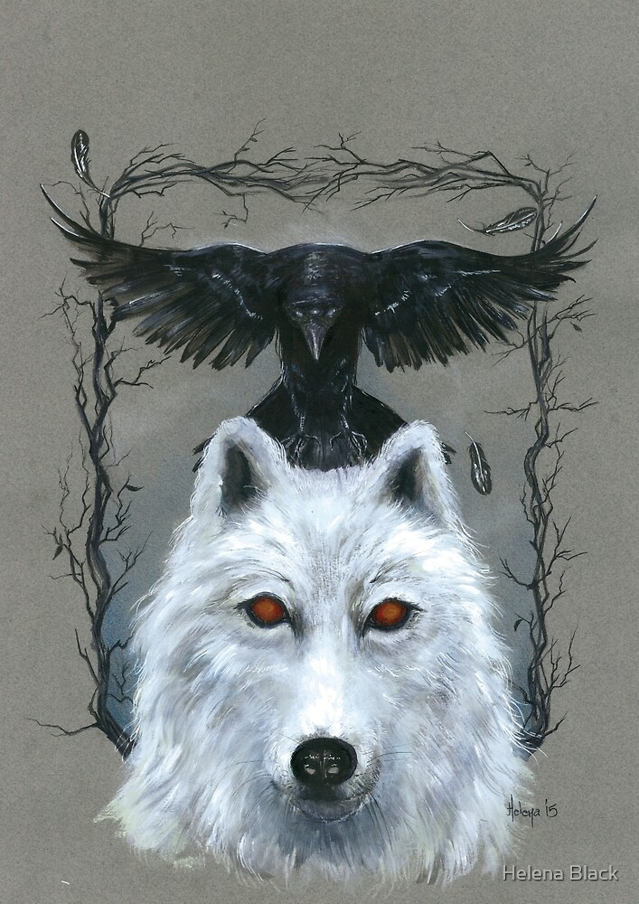 Ghost And The Three-Eyed Raven by Helena Black