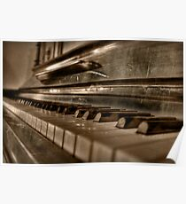Sleeping Ivories Poster