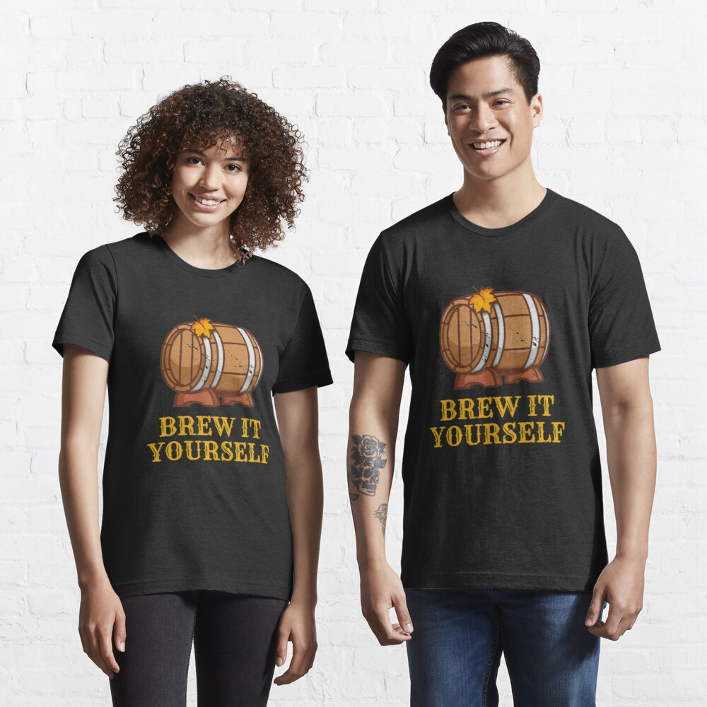 Brew It Yourself - Craft Beer Essential T-Shirt