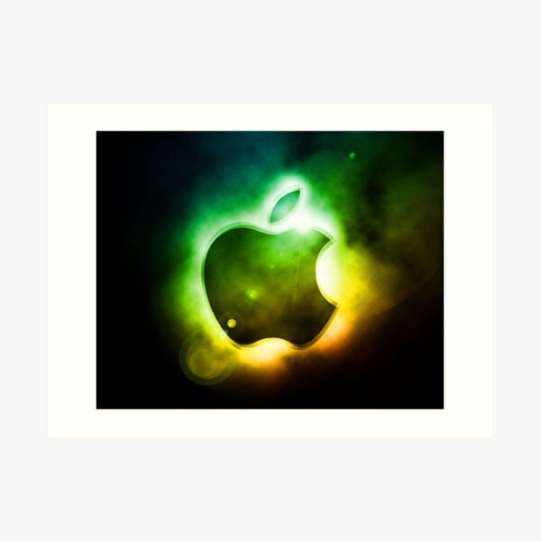 Apple logo  Art Print